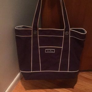 Vera Bradley Large Blue Tote Bag